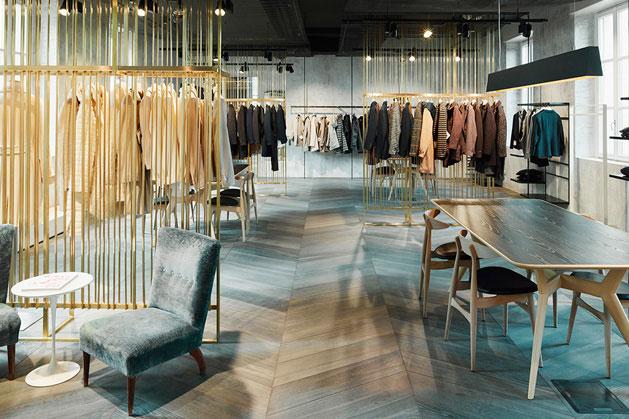 Ristrutturazione showroom Milano - Lardini - 35a Studio di architettura